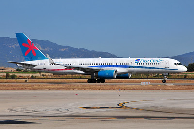 First Choice Airways Boeing 757-28A WL G-OOBA (msn 32446) PMI (Ton Jochems). Image: 952902.