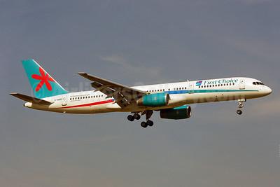 First Choice Airways Boeing 757-28A G-OOBD (msn 33099) LGW (Keith Burton). Image: 901489.