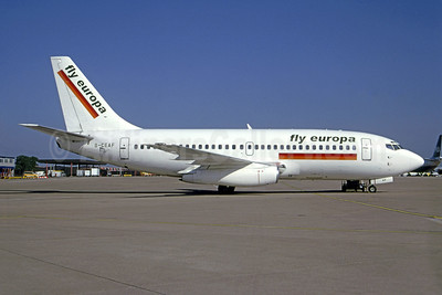 Fly Europa (European AirCharter) (UK) Boeing 737-229 G-CEAF (msn 20910) MAN (Andrew Yarwood). Image: 951233.