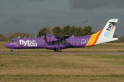 Flybe (Blue Islands) ATR 72-212A (ATR 72-500) G-ISLI (msn 529) GCI (Nick Dean). Image: 945130.