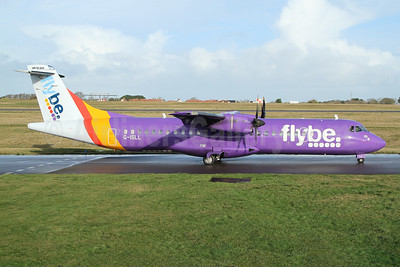 Flybe (Blue Islands) ATR 72-212A (ATR 72-500) G-ISLL (msn 696) GCI (Nick Dean). Image: 948763.