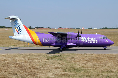Flybe (Blue Islands) ATR 42-500 G-ISLF (msn 546) GCI (Nick Dean). Image: 942920.