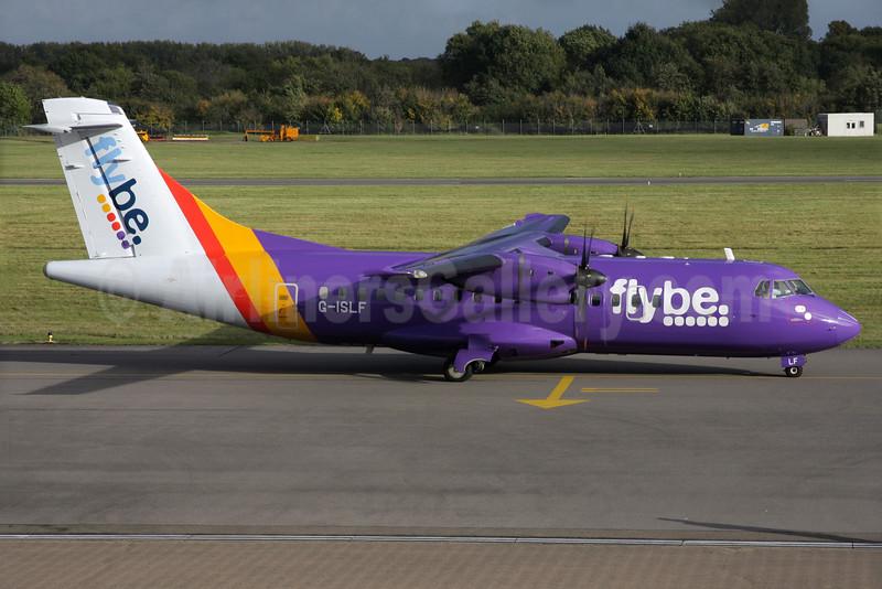 Flybe (Blue Islands) ATR 42-500 G-ISLF (msn 546) SOU (Antony J. Best). Image: 936083.