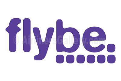 1. Flybe (Loganair) logo