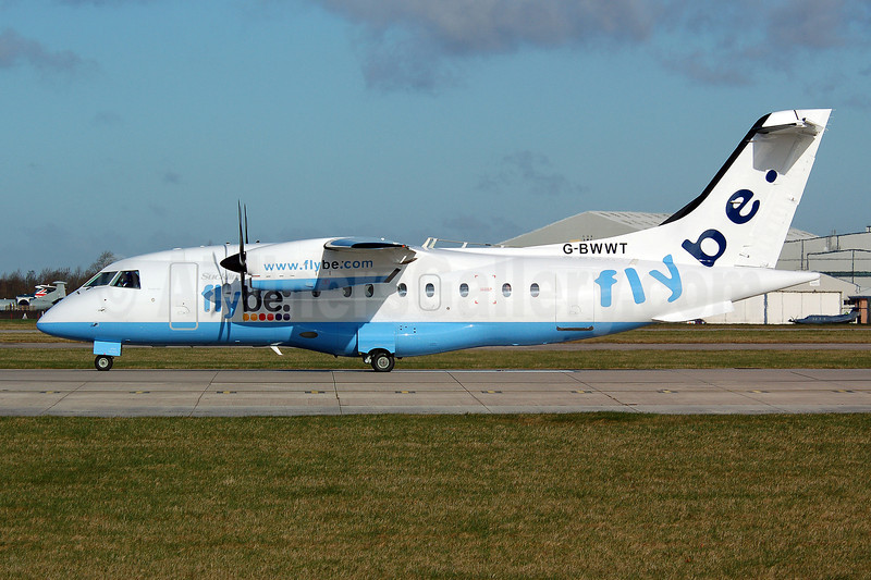 Flybe (flybe.com)-Suckling Airways Dornier 328-110 G-BWWT (msn 3022) MAN (Nik French). Image: 907985.