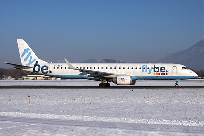 Flybe (British European 2nd) Embraer ERJ 190-200LR (ERJ 195) G-FBEB (msn 19000057) SZG (Arnd Wolf). Image: 904984.