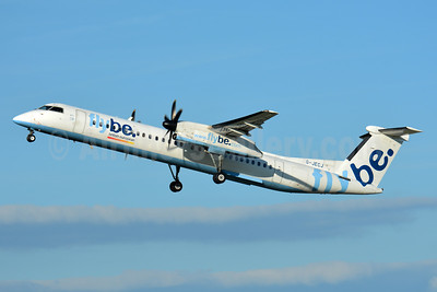 Flybe-British European (2nd) Bombardier DHC-8-402 (Q400) G-JECJ (msn 4110) BSL (Paul Bannwarth). Image: 938110.