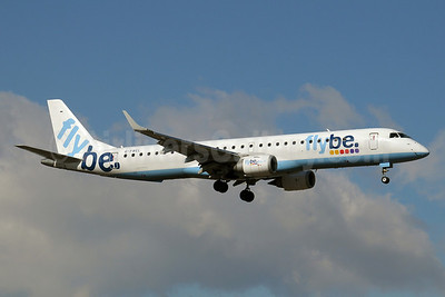 Flybe (British European 2nd) Embraer ERJ 190-200LR (ERJ 195) G-FBEL (msn 19000184) GVA (Paul Denton). Image: 910745.