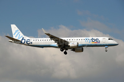 Flybe (British European 2nd) Embraer ERJ 190-200LR (ERJ 195) G-FBEE (msn 19000093) GVA (Paul Denton). Image: 908576.