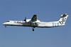 Flybe (British European 2nd) Bombardier DHC-8-402 (Q400) G-JECX (msn 4155) LGW (Antony J. Best). Image: 902095.