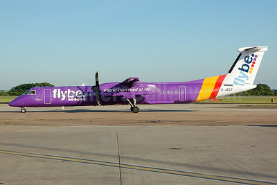 Flybe (British European 2nd) Bombardier DHC-8-402 (Q400) G-JECY (msn 4157) MAN (Nik French). Image: 923260.