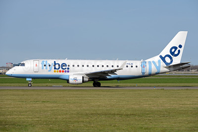 Flybe (British European 2nd) Embraer ERJ 170-200STD (ERJ 175) G-FBJB (msn 17000327) AMS (Ton Jochems). Image: 933260.