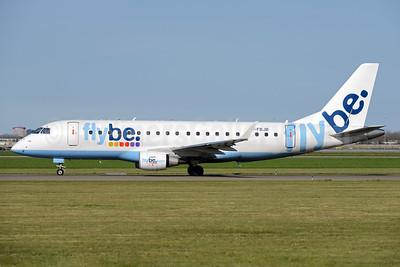 Flybe Embraer ERJ 170-200STD (ERJ 175) G-FBJB (msn 17000327) AMS (Ton Jochems). Image: 933260.