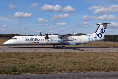 Flybe (British European 2nd) Bombardier DHC-8-402 (Q400) G-JECM (msn 4118) NTE (Paul Bannwarth). Image: 938069.