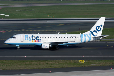 Flybe (British European 2nd) Embraer ERJ 170-200STD (ERJ 175) G-FBJA (msn 17000326) DUS (Ole Simon). Image: 908572.