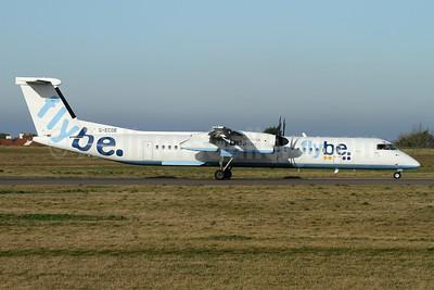 Flybe (British European 2nd) Bombardier DHC-8-402 (Q400) G-ECOE (msn 4212) GCI (Nick Dean). Image: 953221.
