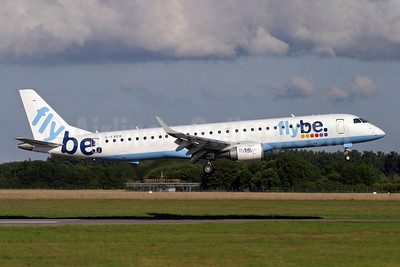 Flybe (British European 2nd) Embraer ERJ 190-200LR (ERJ 195) G-FBEB (msn 19000057) SOU (Antony J. Best). Image: 902097.