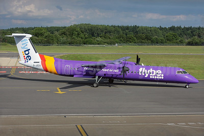 Flybe (British European 2nd) Bombardier DHC-8-402 (Q400) G-JEDV (msn 4090) SOU (Antony J. Best). Image: 924184.