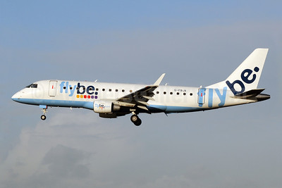 Flybe (British European 2nd) Embraer ERJ 170-200STD (ERJ 175) G-FBJA (msn 17000326) MAN (Rob Skinkis). Image: 908574.