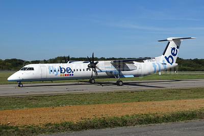 Flybe (British European 2nd) Bombardier DHC-8-402 (Q400) G-ECOJ (msn 4229) NTE (Paul Bannwarth). Image: 940458.
