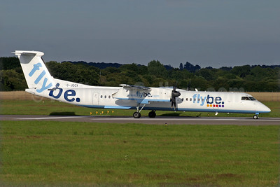 Flybe (British European 2nd) Bombardier DHC-8-402 (Q400) G-JECX (msn 4155) SOU (Antony J. Best). Image: 902094.