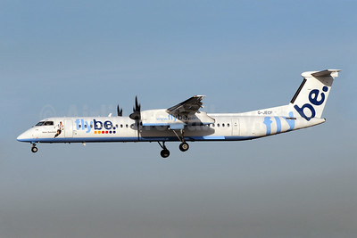 Flybe (British European 2nd) Bombardier DHC-8-402 (Q400) G-JECF (msn 4095) (Adam Stansfield) EMA (Rob Skinkis). Image: 908573.