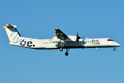 Flybe (British European 2nd) Bombardier DHC-8-402 (Q400) G-JECH (msn 4103) BSL (Paul Bannwarth). Image: 938068.
