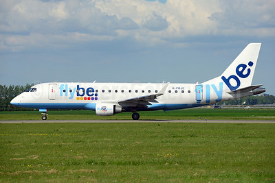Flybe (British European 2nd) Embraer ERJ 170-200STD (ERJ 175) G-FBJC (msn 17000328) AMS (Ton Jochems). Image: 913273.