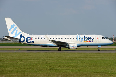 Flybe (British European 2nd) Embraer ERJ 170-200STD (ERJ 175) G-FBJG (msn 17000344) AMS (Ton Jochems). Image: 933261.