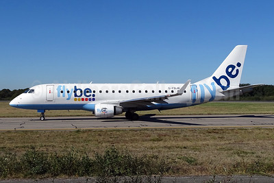 Flybe (British European 2nd) Embraer ERJ 170-200STD (ERJ 175) G-FBJB (msn 17000327) NTE (Paul Bannwarth). Image: 935663.