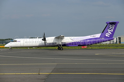 Flybe (British European 2nd) Bombardier DHC-8-402 (Q400) G-JECP (msn 4136) AMS (Ton Jochems). Image: 947374.