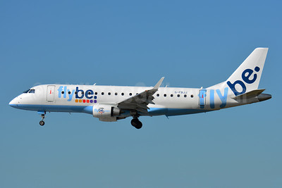 Flybe (British European 2nd) Embraer ERJ 170-200STD (ERJ 175) G-FBJJ (msn 17000358) TLS (Paul Bannwarth). Image: 940457.