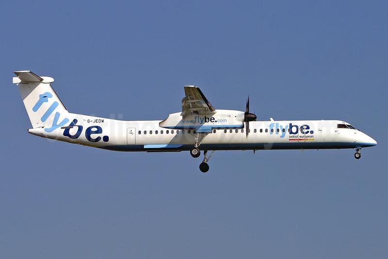 Flybe-British European (2nd) Bombardier DHC-8-402 (Q400) G-JEDW (msn 4093) LGW (Keith Burton). Image: 900053.