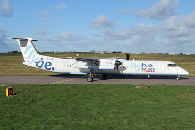 Flybe (British European 2nd) Bombardier DHC-8-402 (Q400) G-JECO (msn 4126) GCI (Nick Dean). Image: 940473.