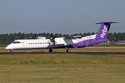 Flybe (British European 2nd) Bombardier DHC-8-402 (Q400) G-JECP (msn 4136) AMS (Ian Bowley). Image: 946883.
