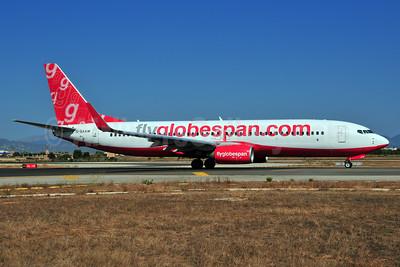 Flyglobespan.com (Globespan Airways) Boeing 737-8Q8 WL G-SAAW (msn 32841) PMI (Ton Jochems). Image: 903690.