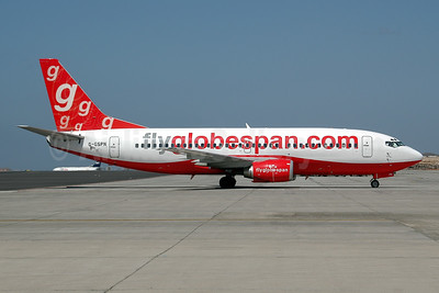 Flyglobespan.com (Globespan Airways) Boeing 737-31S G-GSPN (msn 29267) TFS (Ton Jochems). Image: 953229.
