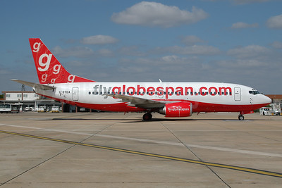 Flyglobespan.com (Globespan Airways) Boeing 737-31S G-OTDA (msn 29266) FAO (Ton Jochems). Image: 953230.