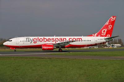 Flyglobespan.com (Globespan Airways) Boeing 737-8BK G-CDEG (msn 33022) SEN (Keith Burton). Image: 904179.
