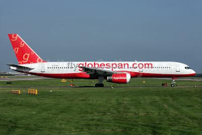 Flyglobespan.com (Globespan Airways) Boeing 757-28A G-CEJM (msn 26276) LGW (Antony J. Best). Image: 902106.