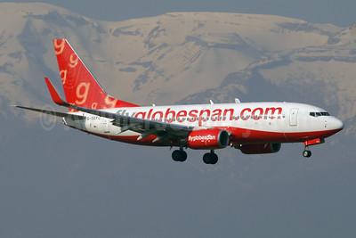 Flyglobespan.com (Globespan Airways) Boeing 737-7Q8 WL G-SEFC (msn 30687) GVA (Paul Denton). Image: 937880.