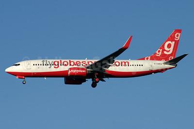 Flyglobespan.com (Globespan Airways) Boeing 737-8BK WL G-CDEG (msn 33022) STN (Antony J. Best). Image: 904176.