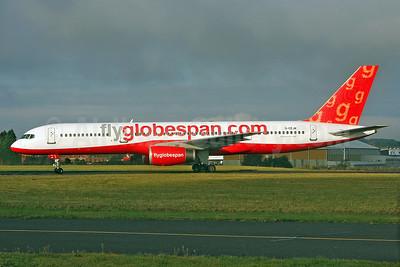 Flyglobespan.com (Globespan Airways) Boeing 757-28A G-CEJM (msn 26276) SEN (Keith Burton). Image: 901497.