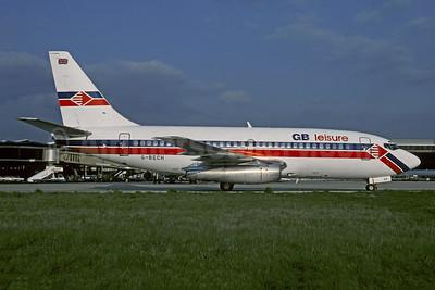 GB leisure (GB Airways) Boeing 737-204 G-BECH (msn 21336) ORY (Christian Volpati). Image: 942976.