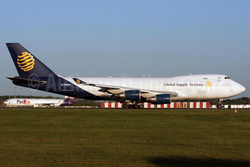 Global Supply Systems (Atlas Air) Boeing 747-47UF G-GSSA (msn 29256) STN (Antony J. Best). Image: 902113.