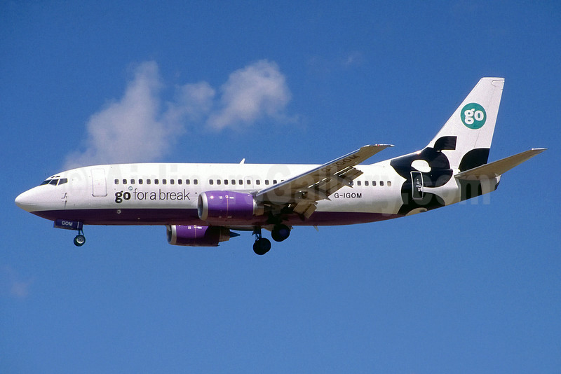 Airline Color Scheme - Introduced 1998 (lavender)