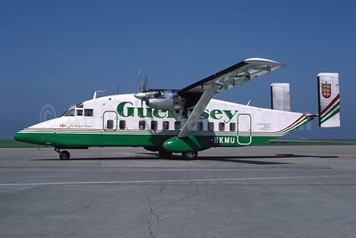 Guernsey Airlines Short Brothers SD3-30 G-BKMU (msn SH.3092) JER (Richard Vandervord). Image: 949102.