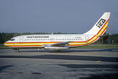 Inter European Airways-IEA Boeing 737-2L9 G-BNGK (msn 22406) (Christian Volpati Collection). Image: 932272.