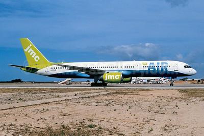JMC Air Boeing 757-28A G-FCLE (msn 28171) ACE (Ton Jochems). Image: 952806.