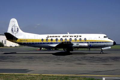 Janus Airways Vickers Viscount 708 G-ARGR (msn 14) COV (SM Fitzwillams Collection). Image: 948718.